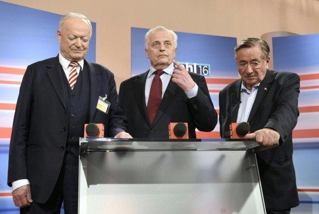 SPÖ und ÖVP konnten bei der Bundespräsidentenwahl 2016 nicht punkten.