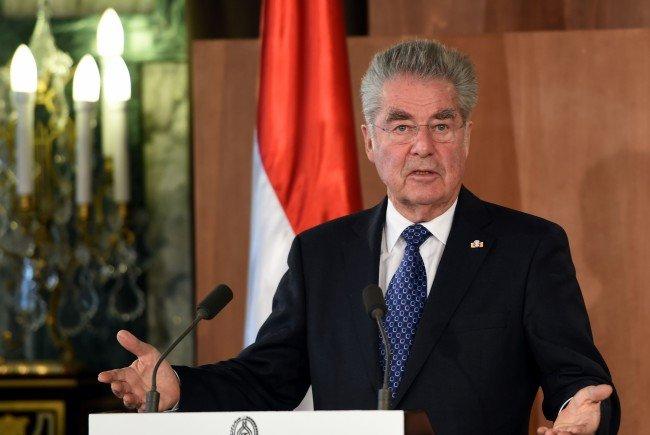 Bundespräsident Heinz Fischer.