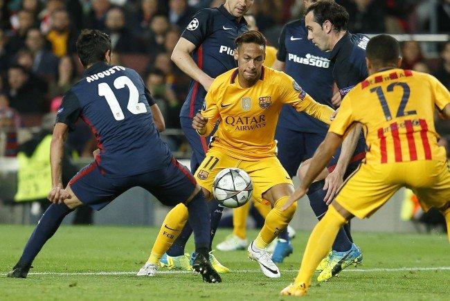 Der FC Barcelona muss im Vicente Calderón von Atlético ran.