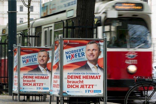 So würden VIENNA.at-User bei der Bundespräsidentenwahl 2016 wählen.