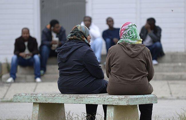 Über die in der Nähe situierte Flüchtlingsunterkunft in Floridsdorf können sich Anrainer informieren