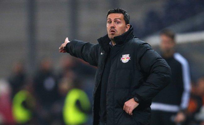 Salzburg-Trainer Óscar García nahm sich für VIENNA.at Zeit.