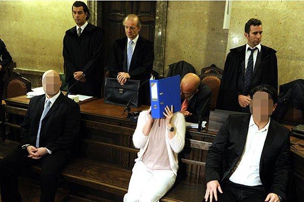 Der Angeklagte beim Handgranatenmord-Prozess in Wien