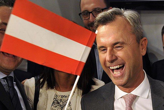 Gegen BP-Kandidaten Norbert Hofer (FPÖ) ruft die OGR zur Demo in Wien auf