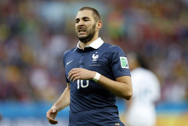 Karim Benzema wird bei der EURO 2016 nicht dabei sein.