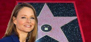Jodie Foster bekommt Stern auf dem Walk of Fame in Hollywood