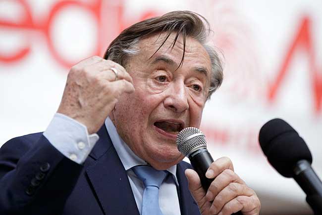 Präsidentschaftskandidat Richard Lugner kritisiert den ORF