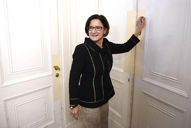 Johanna Mikl-Leitner lässt das Ministeriumsamt hinter sich.