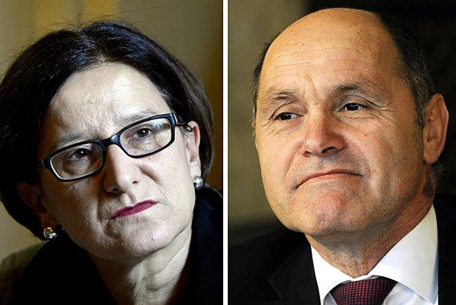 Mikl-Leitner geht - Sobotka soll ihr als Innenminister nachfolgen