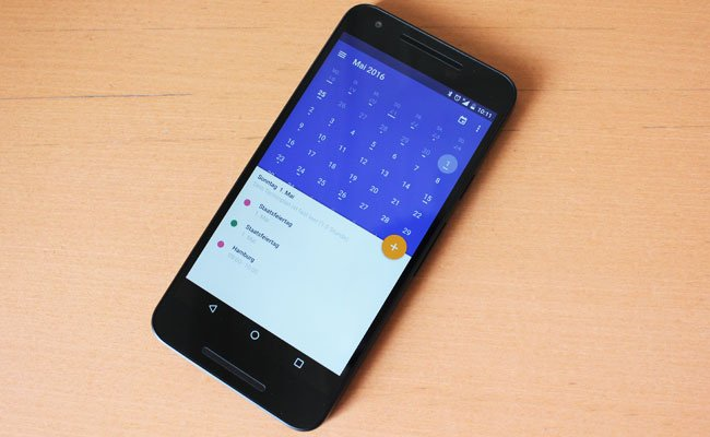 """Die App """"Today Kalender"""" als Tipp der Woche"""