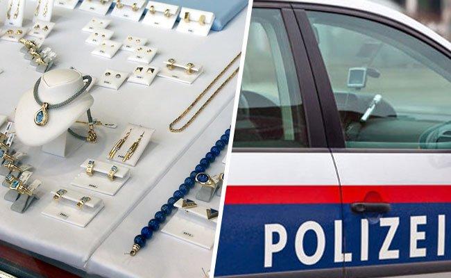 Ein Juwelier in der Wiener City wurde ausgeraubt.