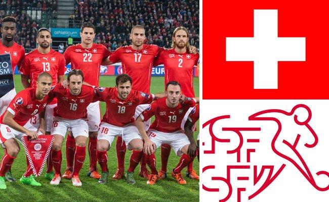 Kader und Teamportrait der Schweizer Nationalmannschaft.