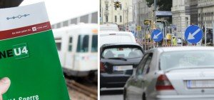 U4-Teilsperre: Was auf die Autofahrer im Westen Wiens zukommt