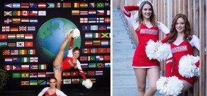 Cheerleading WM: Österreicherinnen unter den Top Ten