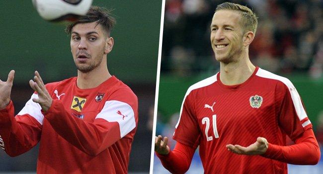 Aleksandar Dragovic und Marc Janko fallen verletzungsbedingt einige Wochen aus.