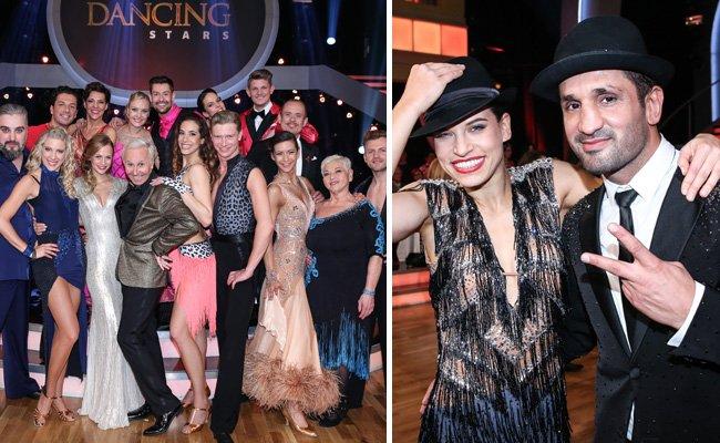 """Fadi Merza (r.) ist bei den """"Dancing Stars"""" ausgeschieden."""