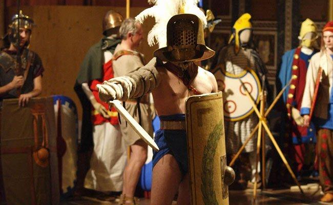 In die Zeit der römischen Antike eintauchen.