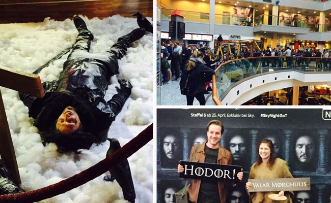 "Bei der Sky Night ""Game of Thrones"" im Millennium City-Kino"