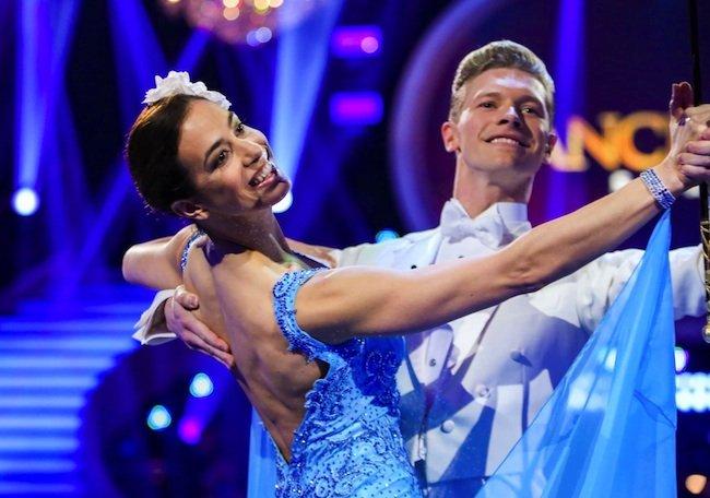 """Nina Hartmann & Paul Lorenz sind bei den """"Dancing Stars"""" ausgeschieden"""
