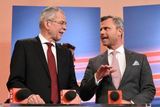 Alexander Van der Bellen (l.) und Norbert Hofer rittern um die Stichwahl.
