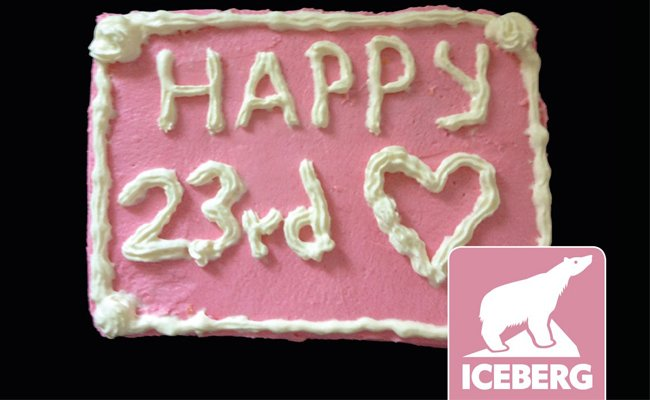 Das ICEBERG feiert Geburtstag und wir gratulieren recht herzlich