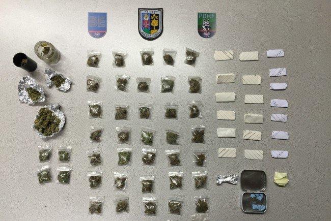 Diese Substanzen fand die Polizei bei der Schwerpunktaktion in Ottakring.