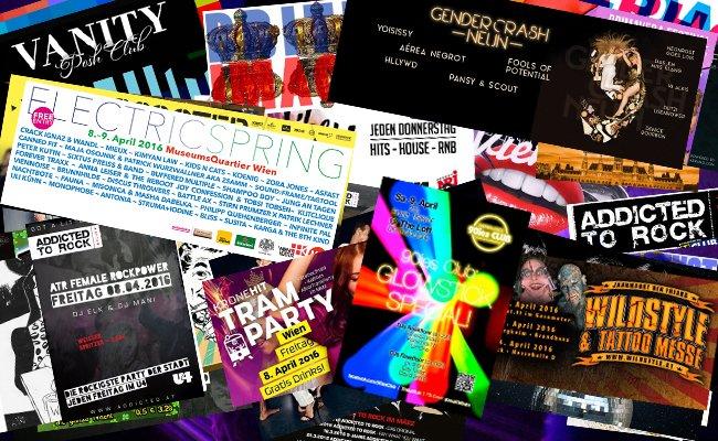 Ein Festival, eine Tram Party und ein Jahrmarkt der Freaks: Das alles bietet WIen am Wochenende