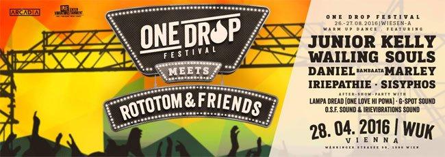 One Drop Festival 2016 abgesagt