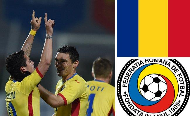 Kader und Teamportrait der rumänischen Nationalmannschaft.