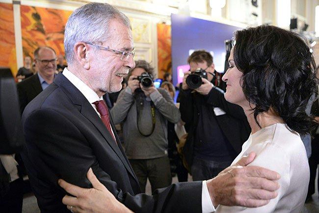 Präsidentschaftskandidat Alexander Van der Bellen konnte Wien überzeugen
