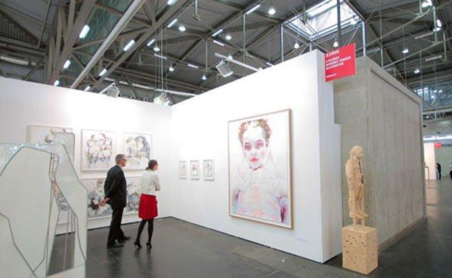 Bei der Viennafair 2015.