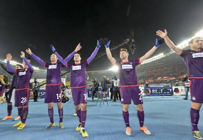 Hoch die Hände: Die Austria hat ein neues Team gegründet.