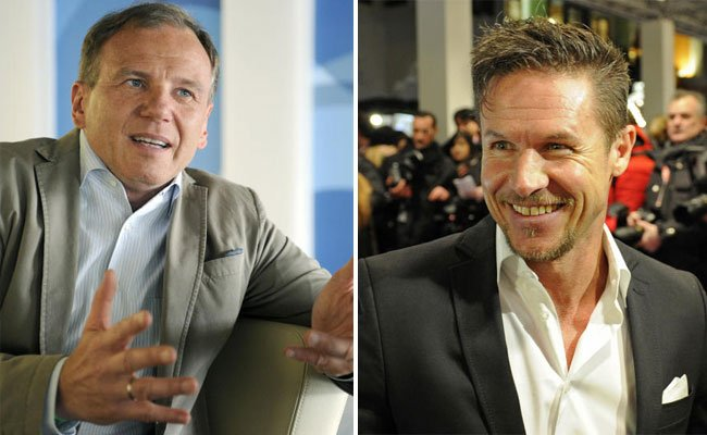 Armin Wolf und Felix Baumgartner im Social Media-Zwist.