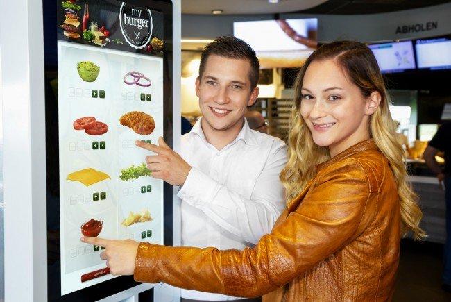 """McDonald's Österreich startet mit """"my burger""""."""