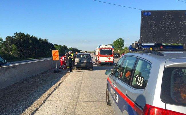 Ein Pkw-Fahrer erlitt einen Schwächeanfall im Baustellenbereich auf der A2.