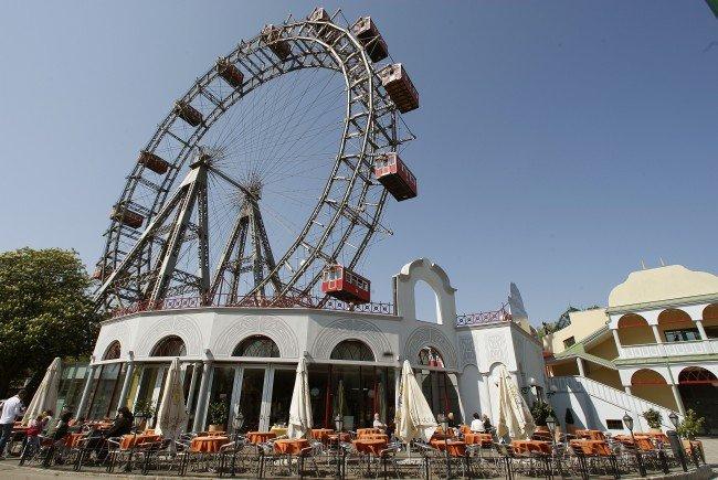 Das Wiener Riesenrad.