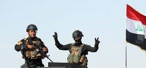 Irakische Einheiten bereiten sich auf Einnahme Fallujas vor