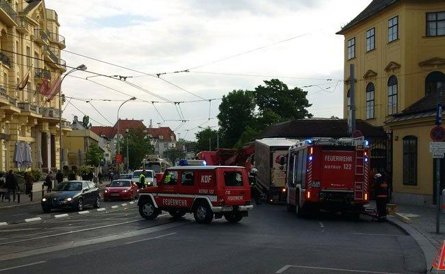 Aufgrund des Unfalls in Hietzing kam es zu Verzögerungen im Frühverkehr.