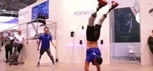 Breakdance mit Prothesen