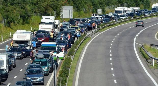 Große Verzögerungen für Autofahrer in Oberösterreich Richtung Salzburg.