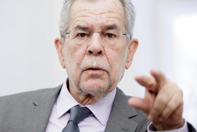 Alexander Van der Bellen fordert die Wähler auf, von ihrem Recht Gebrauch zu machen.