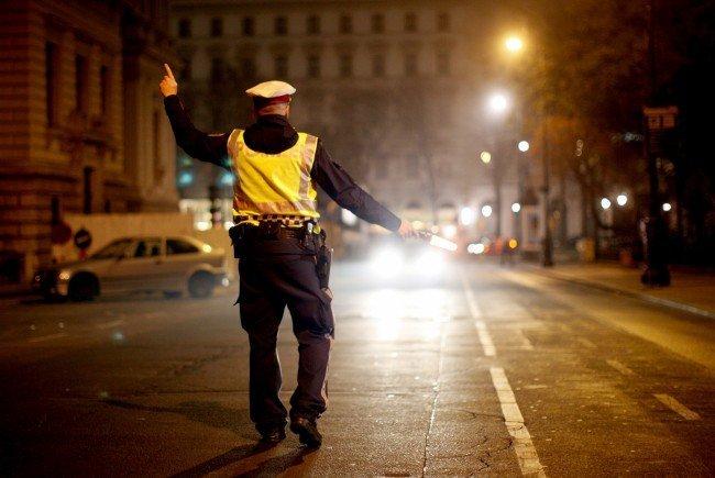 Mittwoch und Donnerstag führte die Polizei in Floridsdorf Schwerpunktkontrollen durch.
