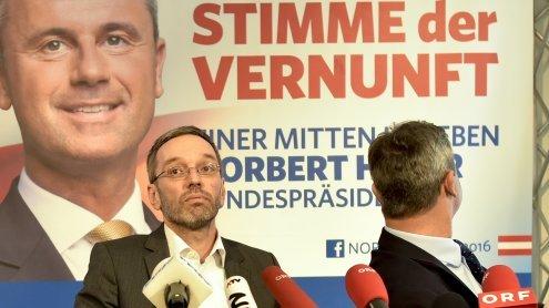 Fauxpas im Wahlkampf: Plakate für Hofer in Bosnien gedruckt