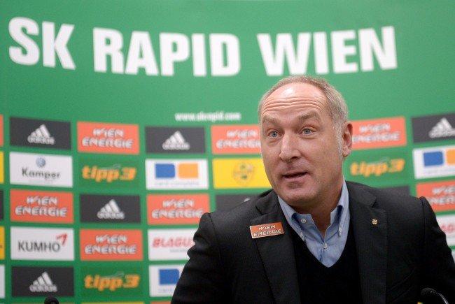 Rapid hat in dieser Saison zwei von drei Zielen nicht erreicht.