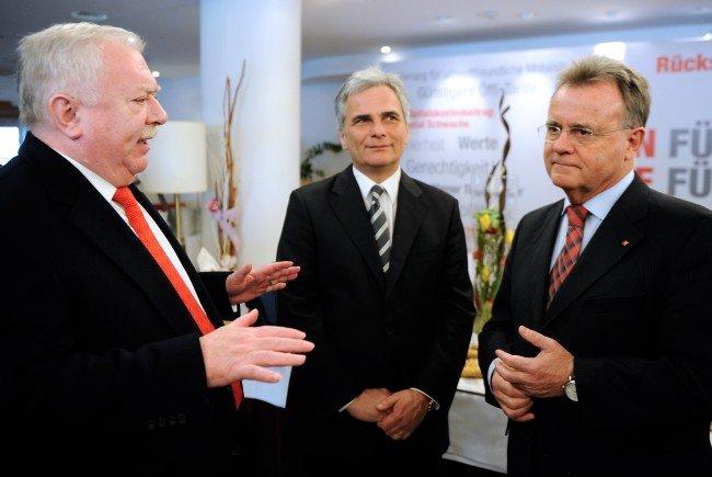 Die SPÖ-Granden sind weiter auf der Suche nach einem Nachfolger für Werner Faymann.