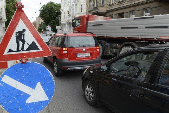 Ab dem 17. Mai kommt es im Bereich Taborstraße/Heinestraße zu Stau.