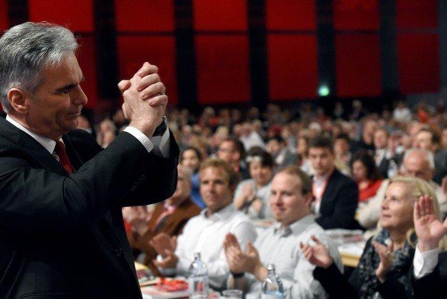 Die gebeutelte SPÖ feiert den 1. Mai.