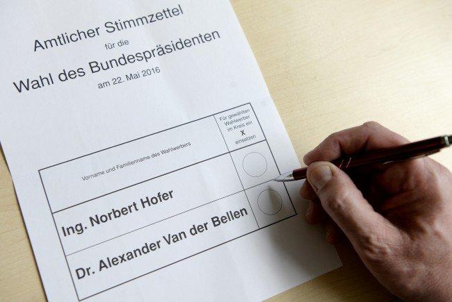 VIENNA.at fragt nach: Wen würden Sie derzeit bei der Bundespräsidentenwahl wählen?