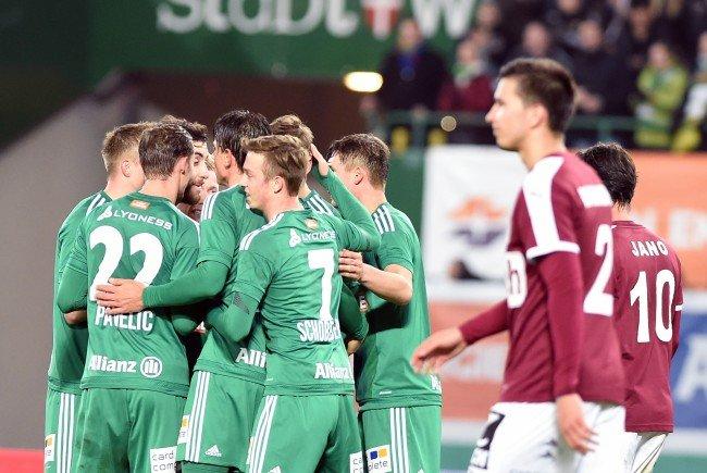 LIVE-Ticker zum Spiel SV Mattersburg gegen SK Rapid Wien ab 16.30 Uhr.