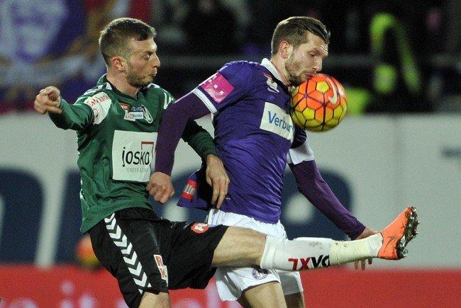 LIVE-Ticker zum Spiel SV Ried gegen FK Austria Wien ab 20.30 Uhr.